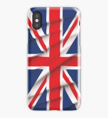 Fluttering Union Jack iPhone Case