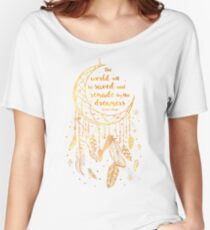 Saved and Remade - gold Women's Relaxed Fit T-Shirt