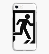 Modern Exit Iconography - High Fidelity iPhone Case/Skin