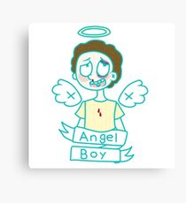 Angel Boy -Morty Canvas Print
