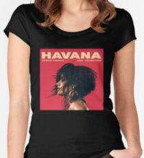 Havana Camila Cabello Merch Women's Fitted Scoop T-Shirt
