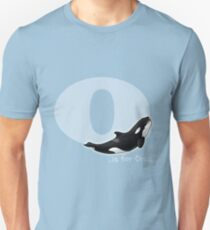 O is for Orca Unisex T-Shirt