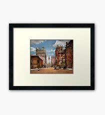 City - PA Philadelphia - Broad Street 1905 Framed Print