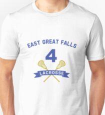 Steve Stifler 4 East Great Falls Lacrosse T-Shirt