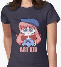 ART KID Women's Fitted T-Shirt