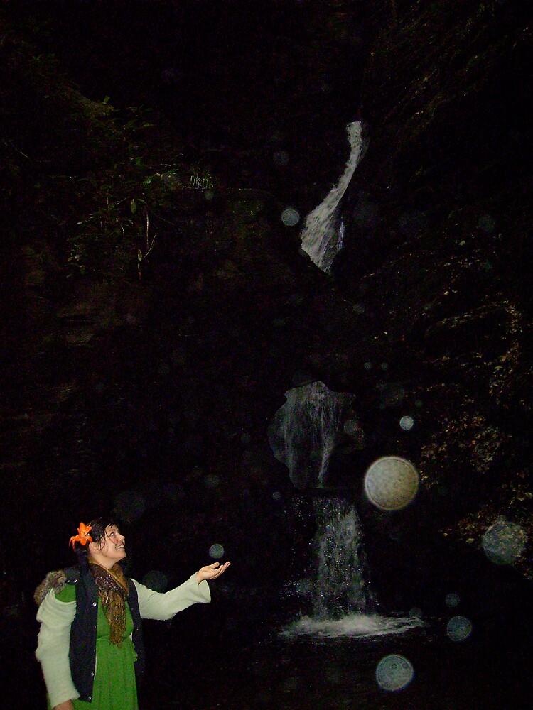 Me and Orb sSt Nectans Glen by Amanda Gazidis