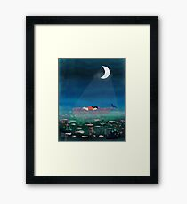 Dream With The Whale Framed Print