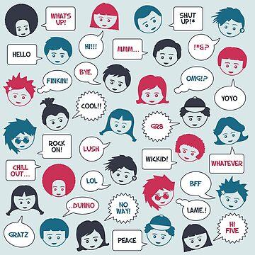 Kids Speak by mattandrews