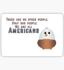 Kawaii Eagle Sticker