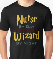 Nurse By Day Wizard By Night T-Shirt