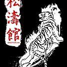 Shotokan Kanji Tiger (weiß) von DCornel