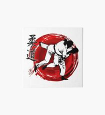 Judo Galeriedruck