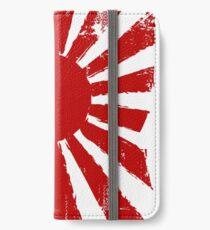 Japan aufgehende Sonne iPhone Flip-Case/Hülle/Klebefolie