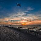 a cinematic moment at the Tel Aviv port by Ronsho