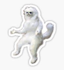 Persian Cat Room Guardian Sticker