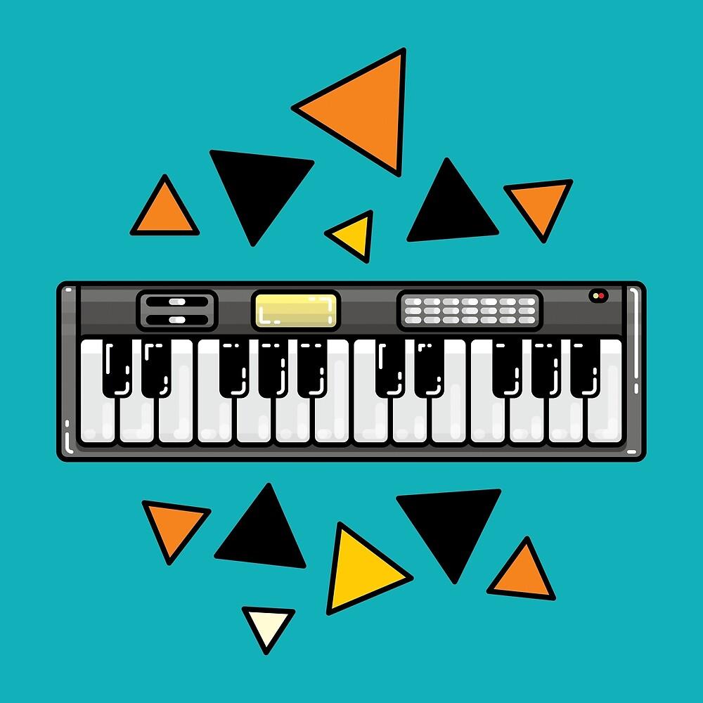 Music keyboard by valegr