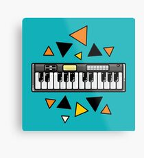 Music keyboard Metal Print
