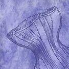 Purple Corset by Joanne Rawson