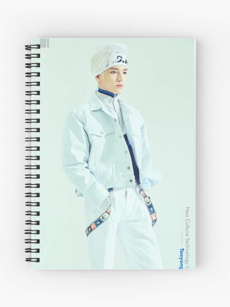 NCT U 7TH SENSE/WITH OUT YOU TAEYONG | Spiral Notebook