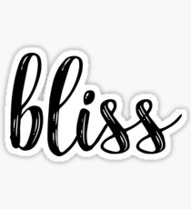 Bliss Sticker