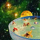 Screaming Children in Pool by eugenialoli