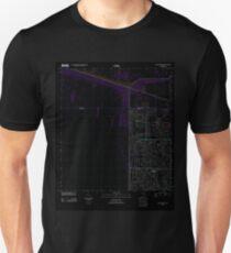 USGS TOPO Map Florida FL Coral Springs NE 20120718 TM Inverted T-Shirt