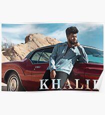 Khalid Merchandise Poster