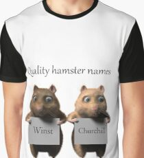 Quality hamster names Graphic T-Shirt