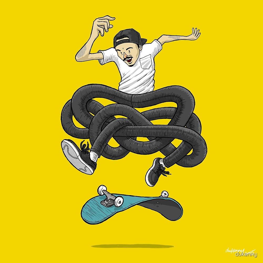 Gnarly Skater by dukenny