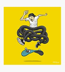Gnarly Skater Photographic Print