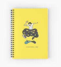 Gnarly Skater Spiral Notebook