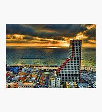 Tel Aviv LEGO Photographic Print