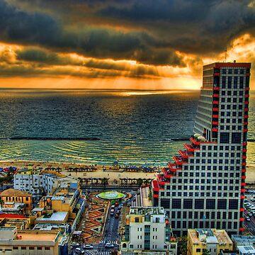 Tel Aviv LEGO by Ronsho