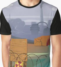 Zombies and toxic waste - Illustration  Graphic T-Shirt