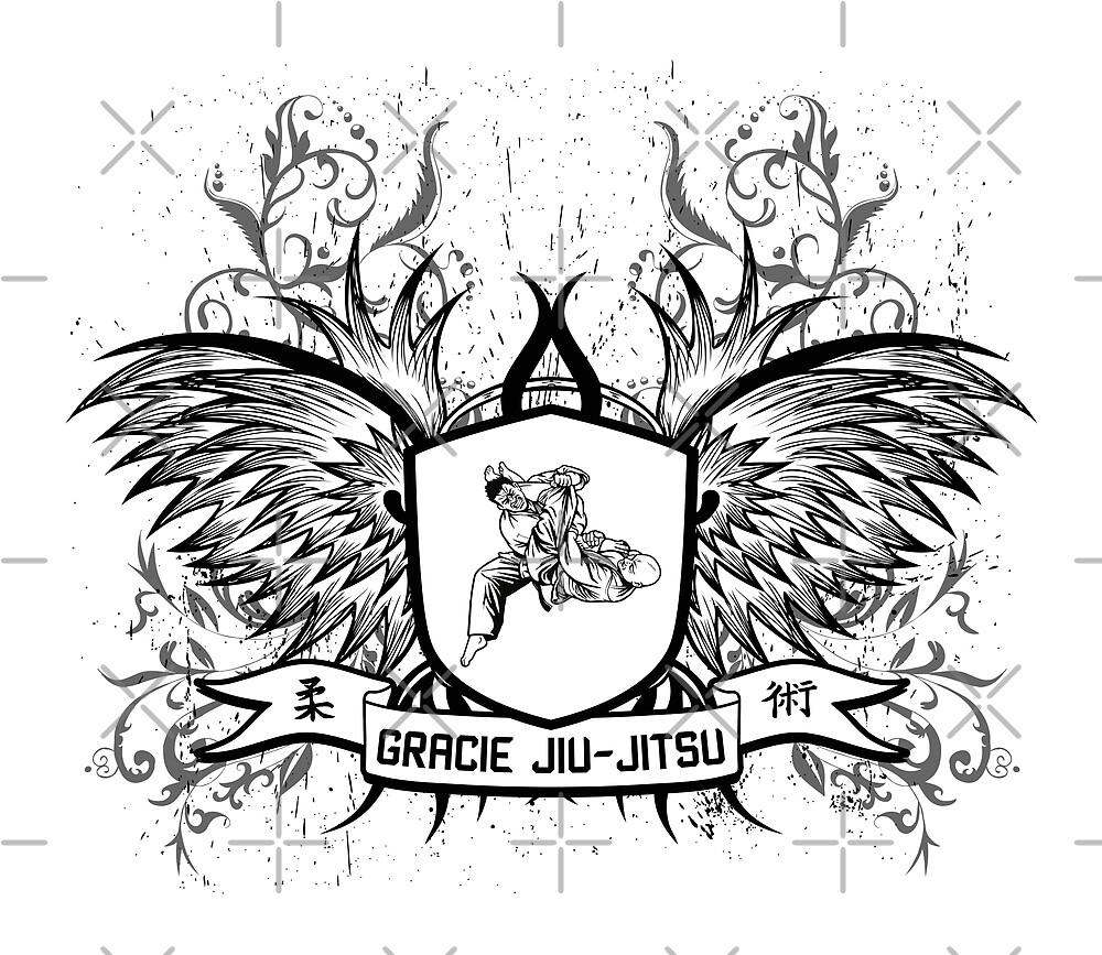 Gracie Jiu Jitsu BJJ by DCornel
