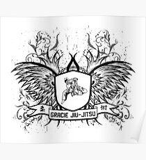 Gracie Jiu Jitsu BJJ Poster
