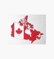Canada Art Board Print