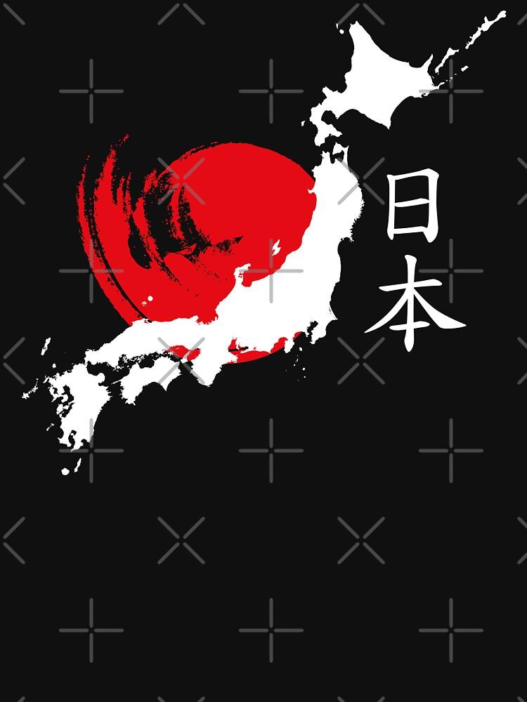 Japan (white) by DCornel