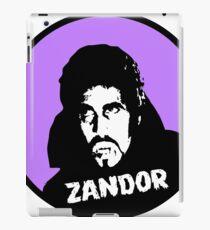 Zandor Vorkov - Horror's Gravest Dracula! iPad Case/Skin
