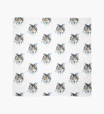 Watercolour Wolf Scarf