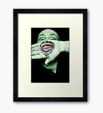 Happy Hulk Framed Print