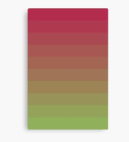 Gradient Lines Magenta Green Lienzo