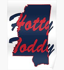 Ole Miss Hotty Toddy Poster