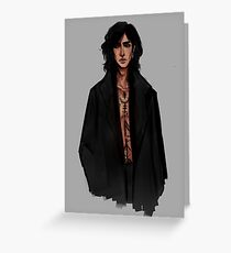 Young Sirius Black II Greeting Card