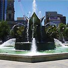 Adelaide Fountain by Kirsten H