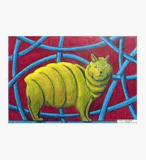 404 - MICHELIN MANX - DAVE EDWARDS - COLOURED PENCILS - 2014 Photographic Print