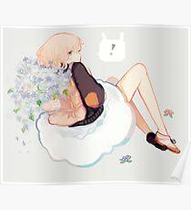 flower overflow Poster