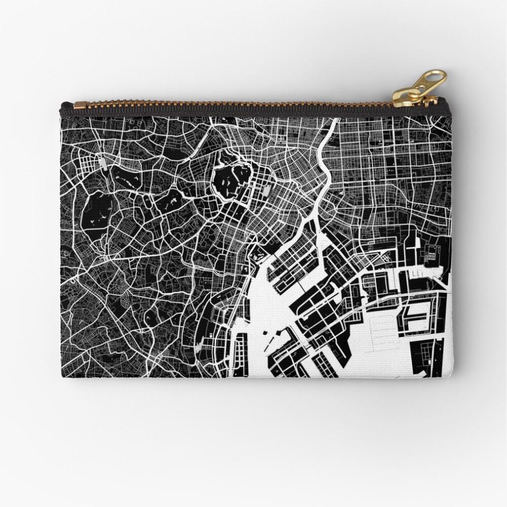 Tokio - Japan | Stadtplan | Minimalismus Täschchen