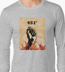 Fahrenheit 451 - Ray Bradbury Long Sleeve T-Shirt