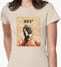Fahrenheit 451 - Ray Bradbury Women's Fitted T-Shirt